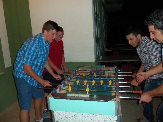 Balkaya Hotel: beating the boys again !!