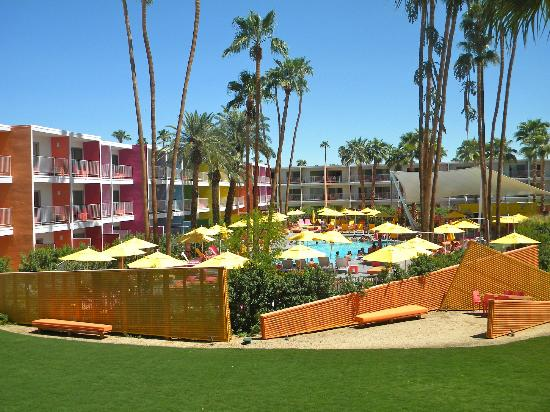 The Saguaro Palm Springs, a Joie de Vivre Hotel: View from room 275
