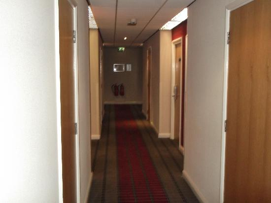 Holiday Inn Express Stoke-on-Trent: view from corridor 1