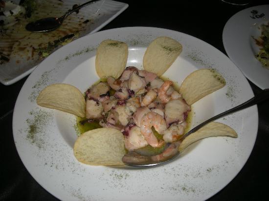 Arnuero, Spain: Rabas -pescado-, (5,50€)