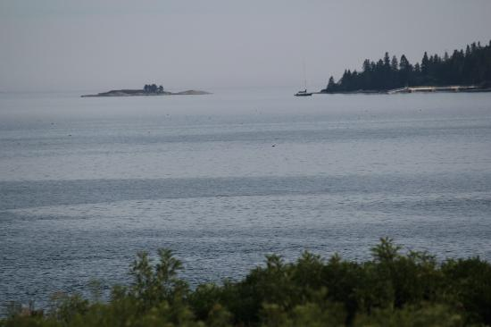 Lookout Inn: Islands in the distance 