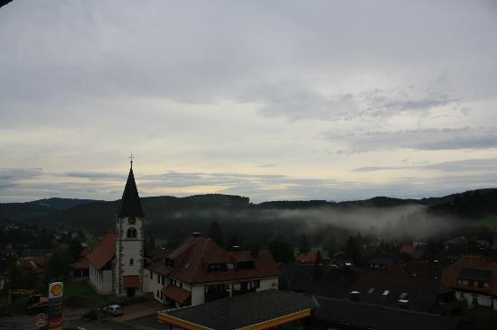 Hotel Schlehdorn: view from the room