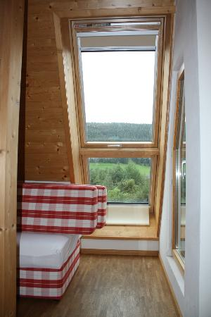 Hotel Schlehdorn: view from bedroom