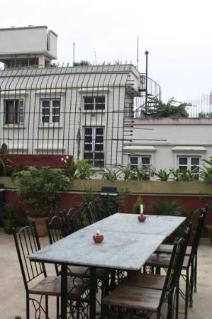 Hotel Kathmandu Terrace: la terrazza