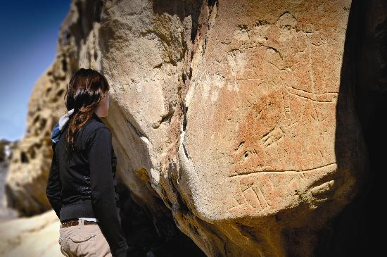 White Mountain Petroglyphs