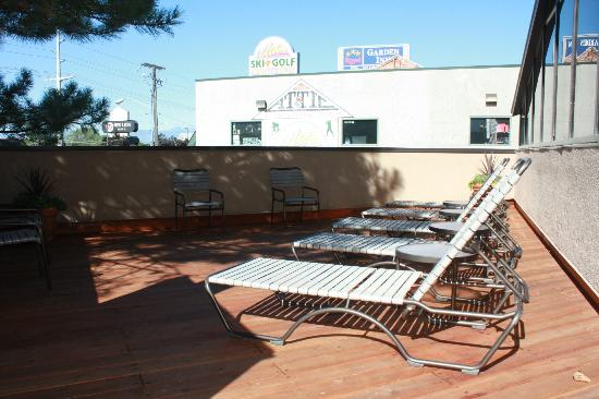 DoubleTree Suites by Hilton Hotel Salt Lake City: Outdoor Sundeck