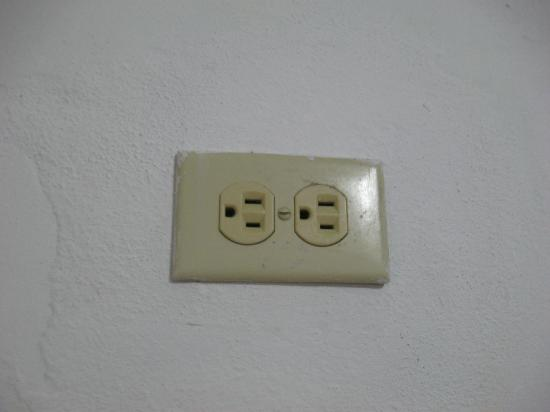 Hotel Tropicoco. Power socket