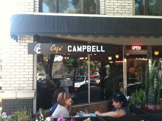 Cafe Campbell... gelato & wine!