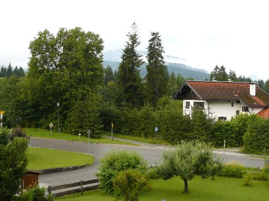 Gastehaus Schwemmbauer: View from the balcony