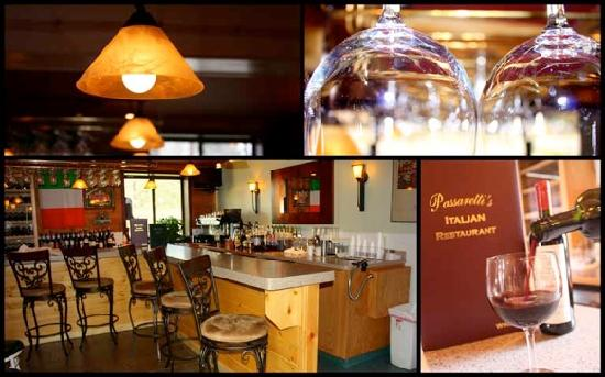 Passaretti's Italian Restaurant: Wine Bar and Interior