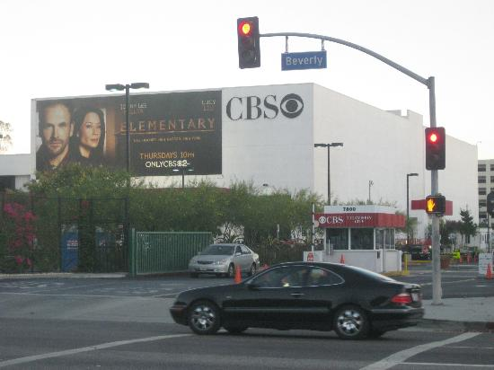 Rodeway Inn Los Angeles: CBS across the street
