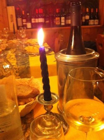 Ristorante Lago Pianozes: a lume di candela