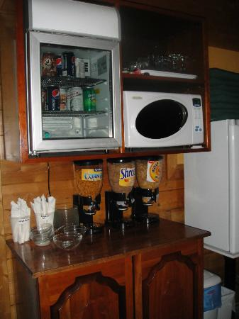 Evergreen Forest B&B: Snack station