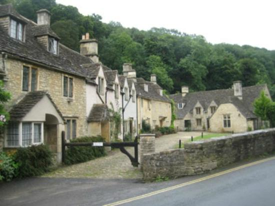 Moda House: The beautiful village of Castle Combe a short drive away