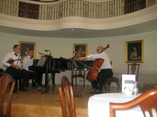 Moda House: Music in the lovely Pump room Bath