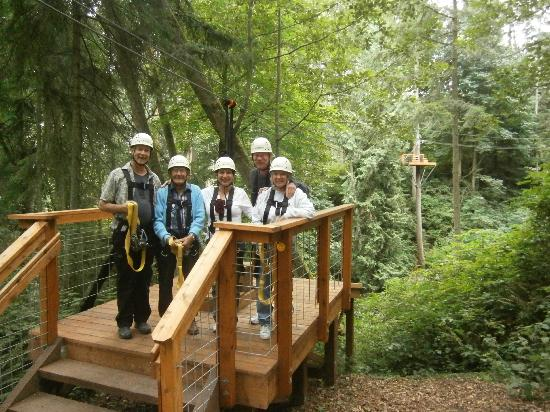 Canopy Tours Northwest : If a 94 year old can zip line, so can you!