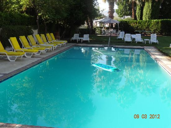 Ingleside Inn: Pool and lounging area