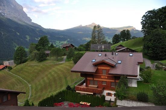 Hotel Kirchbuehl: Vista balcón