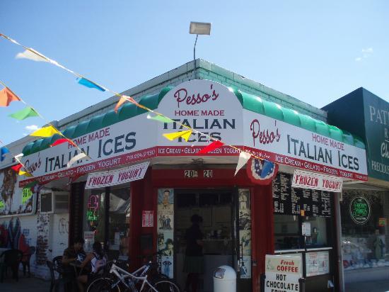Pesso's Italian Ices: Pesso's Front