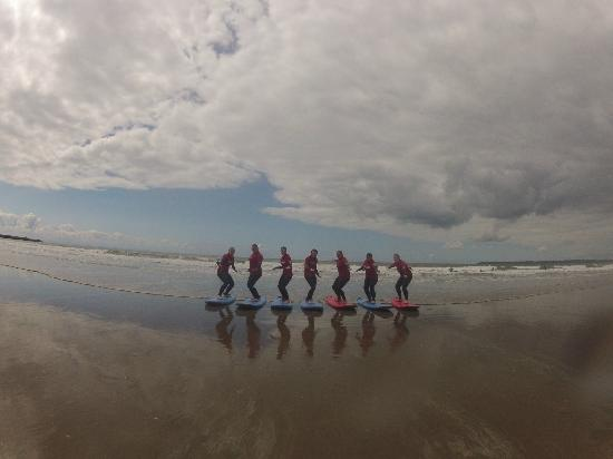 Surf School Wales: Girls just want to have fun!