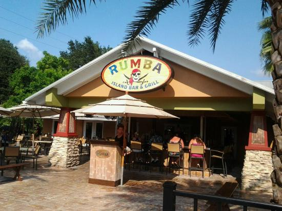 Rumba Island Bar & Grill: Entrance to Rumba with Patio