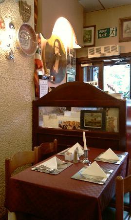 The Jolly Restaurant: The main entrance