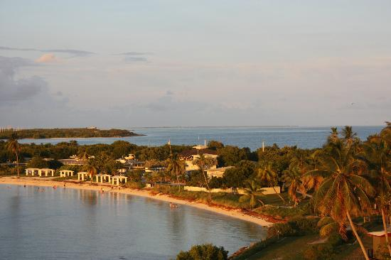 Bahia Honda State Park Campgrounds: A view of the state park from the bridge
