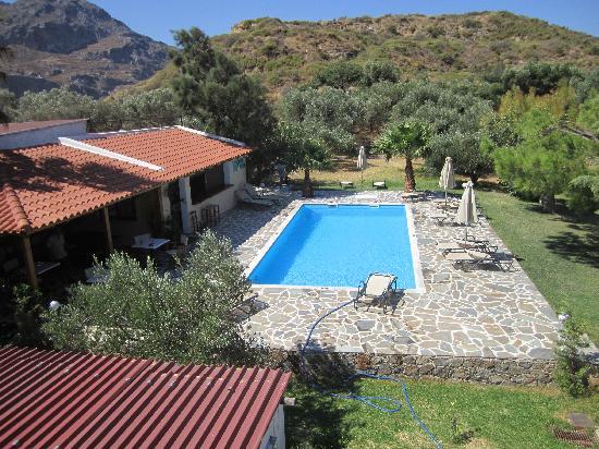 Hotel Irida Plakias: Veduta dalla nostra camera