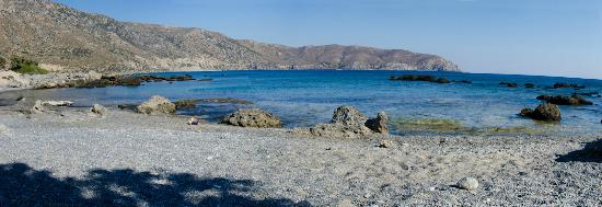Kedrodasos Beach: The beach