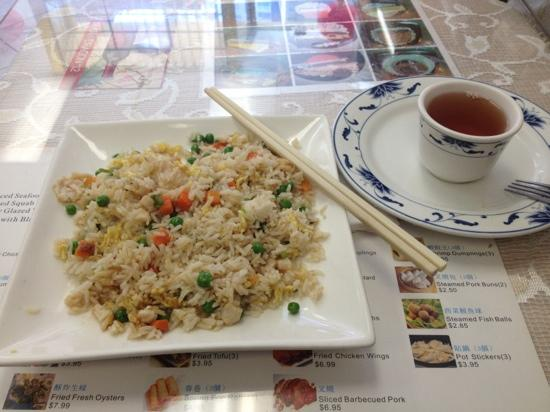 Delicious and generous Chicken Fried Rice