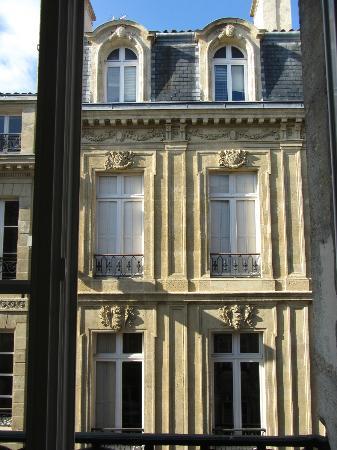 Hotel Gambetta : View from the open windows