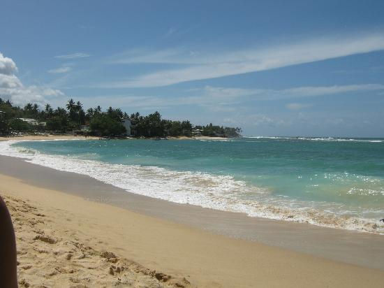 Unawatuna Nor Lanka Hotel: The beach