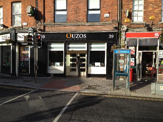 Ouzos Bar & Grill: Ouzos, New Addition to Blackrock