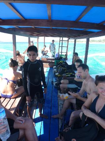 Gili Scuba Diving: la barca
