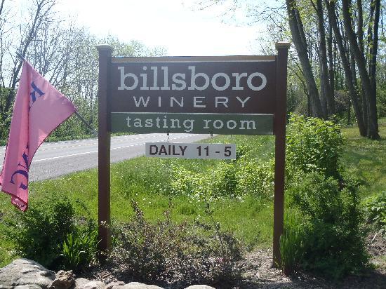 billsboro winery : Billsboro Entrance