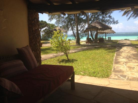 Galu Beach Retreat: View from my room