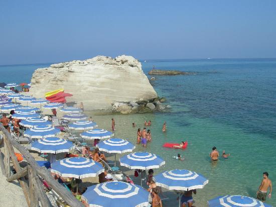 Plage de Tropea : Spiaggia degli scoglietti