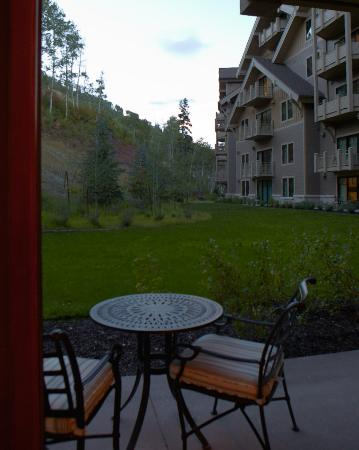 Montage Deer Valley: View from our room. Beautiful and quiet