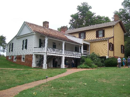 James Monroe's Highland: The back of the house