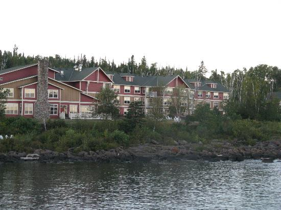 Cove Point Lodge: Resort View from Cove Point