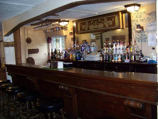 Beaver River Lodge: A well stocked bar