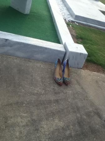 Μοντγκόμερι, Αλαμπάμα: someone brought them high heels.