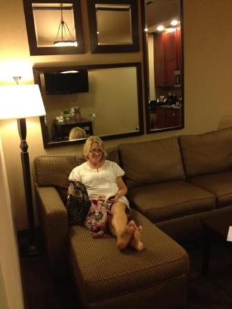 Homewood Suites by Hilton Indianapolis-Downtown: Relaxed!