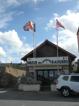 Exterior of the Ranger Museum in Grandcamp-Maisy