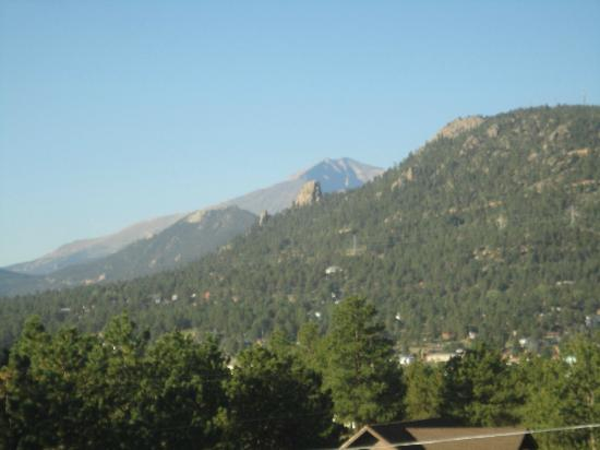 Quality Inn Estes Park: view from deck!