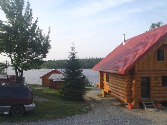 Βαλ Ντ' Ορ, Καναδάς: vue de notre chalet