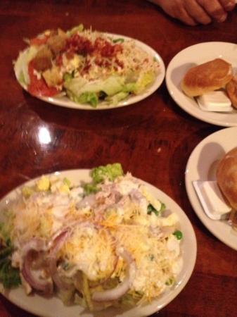 Chuck S Steak House Salad Bar Buffet And Hot Rolls Yummy
