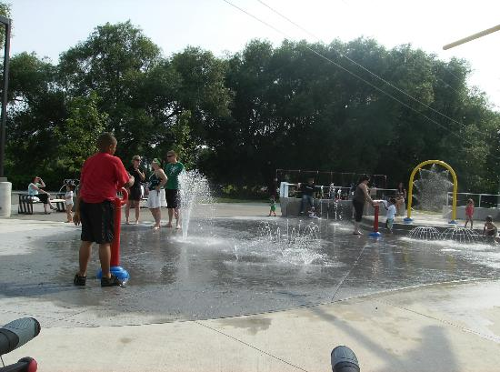 Orillia, Canada: The Splash Pad