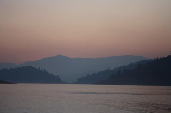 Bridge Bay at Shasta Lake: Smoky in Shasta