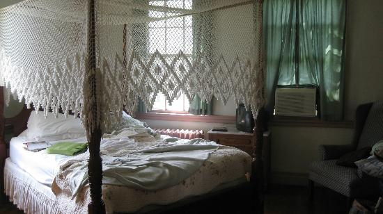 Brigadoon of Mystic: One of the quaint bedrooms
